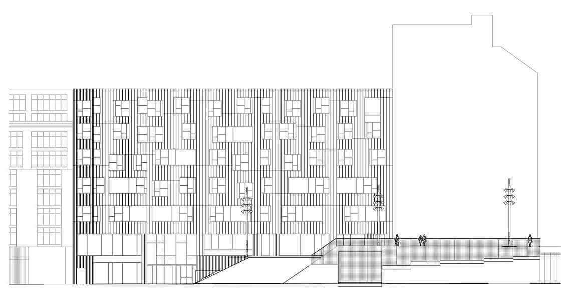 Sub-Sector 2 - fachada @Marc García-Durán, arquitecto