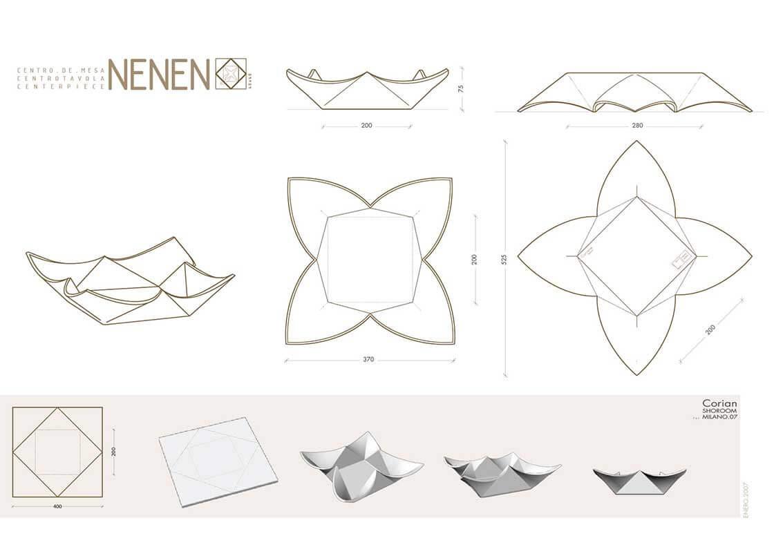 Nenen - corian @Marc García-Durán, arquitecto