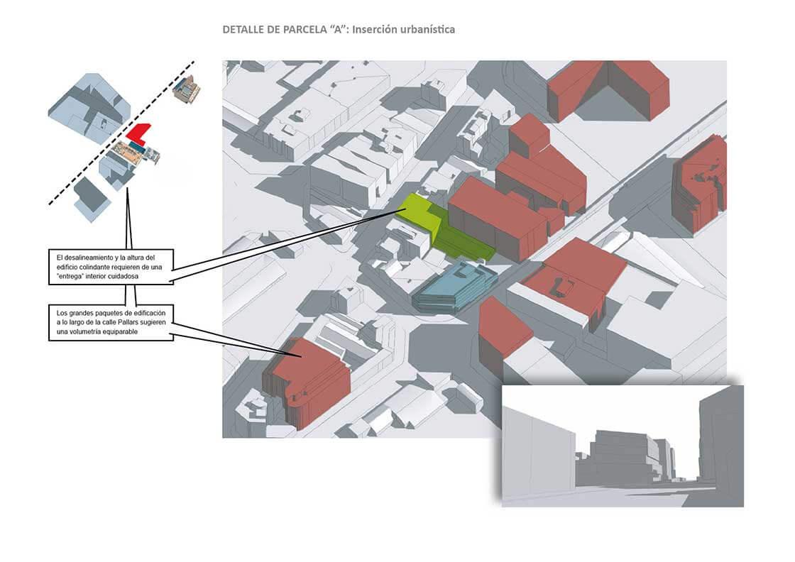 Sub-Sector 4 - Detalle Parcela A @Marc García-Durán, arquitecto