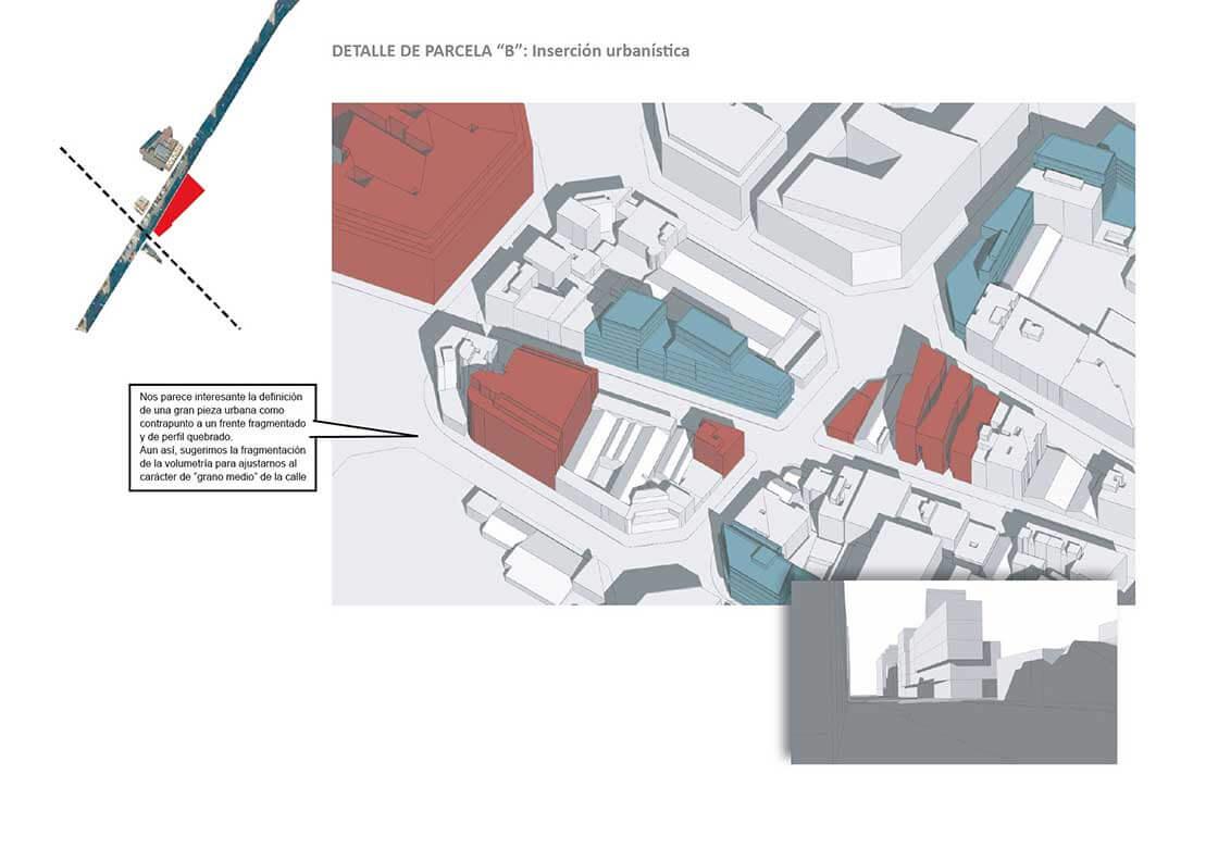 Sub-Sector 4 - Detalle Parcela B @Marc García-Durán, arquitecto