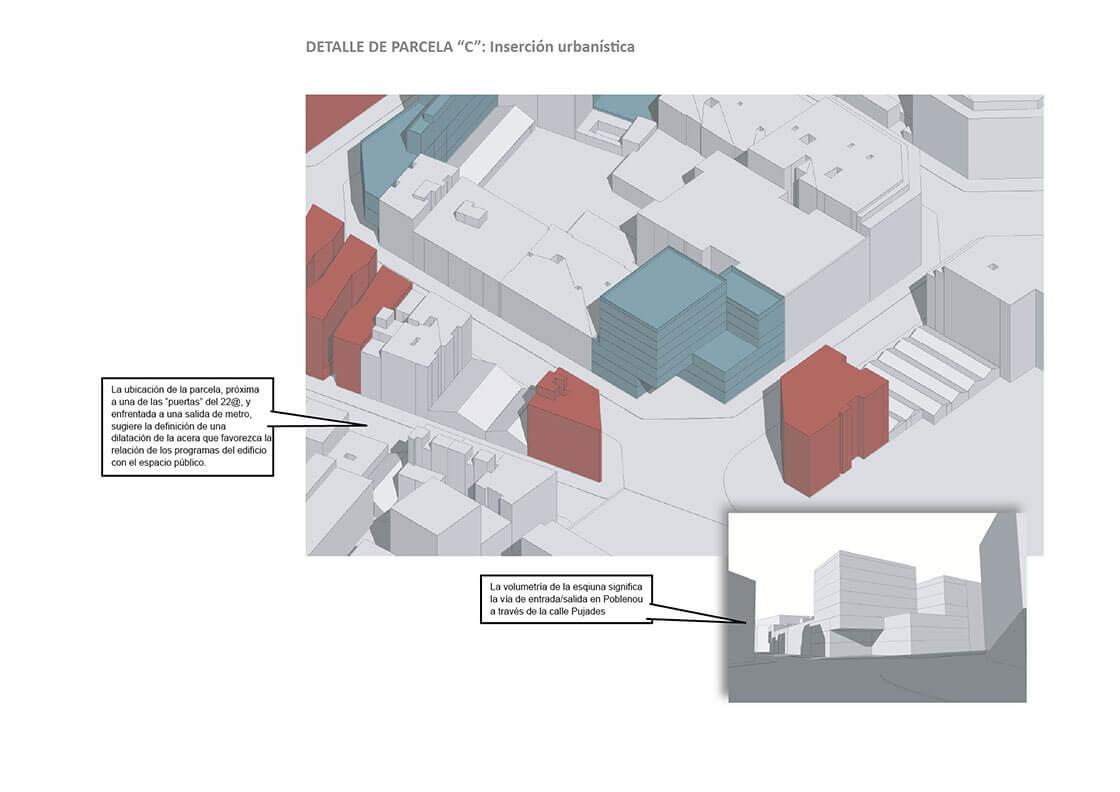 Sub-Sector 4 - Detalle Parcela C @Marc García-Durán, arquitecto