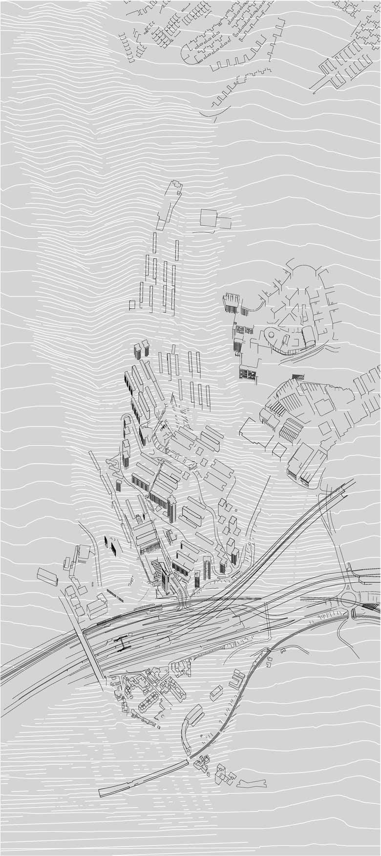 Camí de l'Aigua - preexistencies @Marc García-Durán, arquitecto