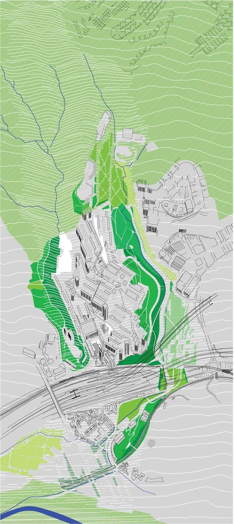 Camí de l'Aigua - verds @Marc García-Durán, arquitecto