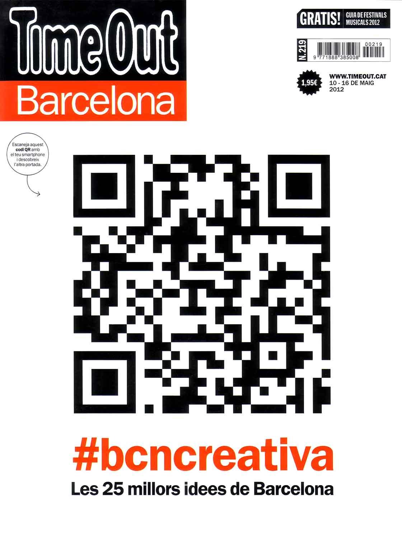 Time Out Barcelona n.219 - portada @Marc García-Durán, arquitecto
