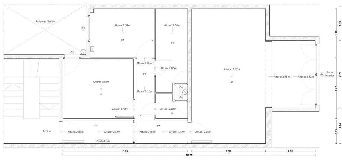 Casa Marimon - plano @Marc García-Durán, arquitecto