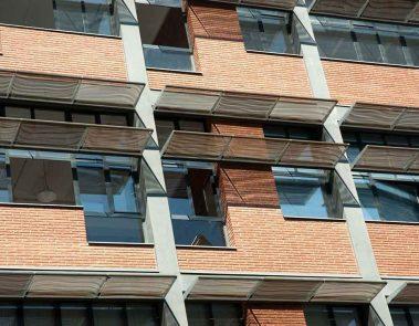Edificio Pere IV - detalle fachada @Marc García-Durán, arquitecto