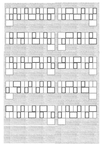 Edificio Pere IV - estudio fachada @Marc García-Durán, arquitecto