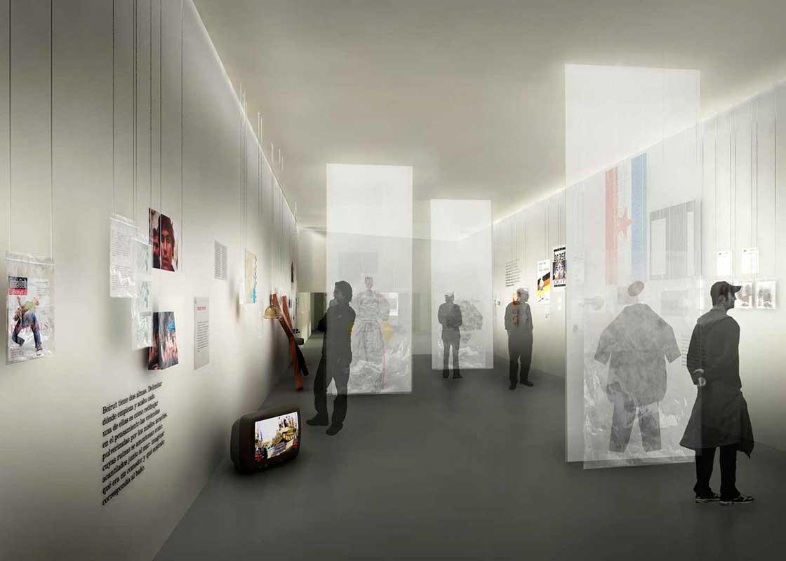 L'arxiu del corresponsal de guerra @Marc García-Durán, arquitecto