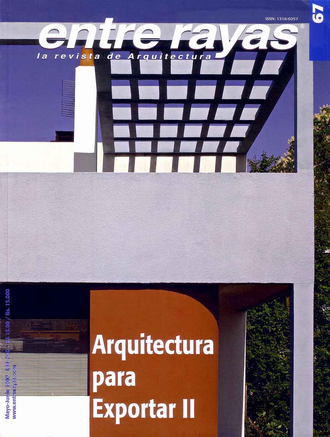 Entre rayas n.67 - portada @Marc García-Durán, arquitecto