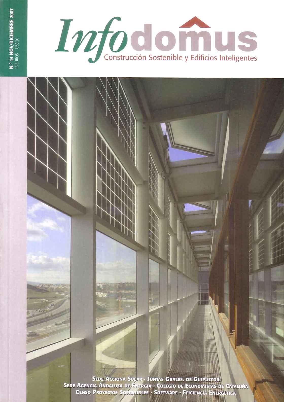 Infodomus n.14 - portada @Marc García-Durán, arquitecto
