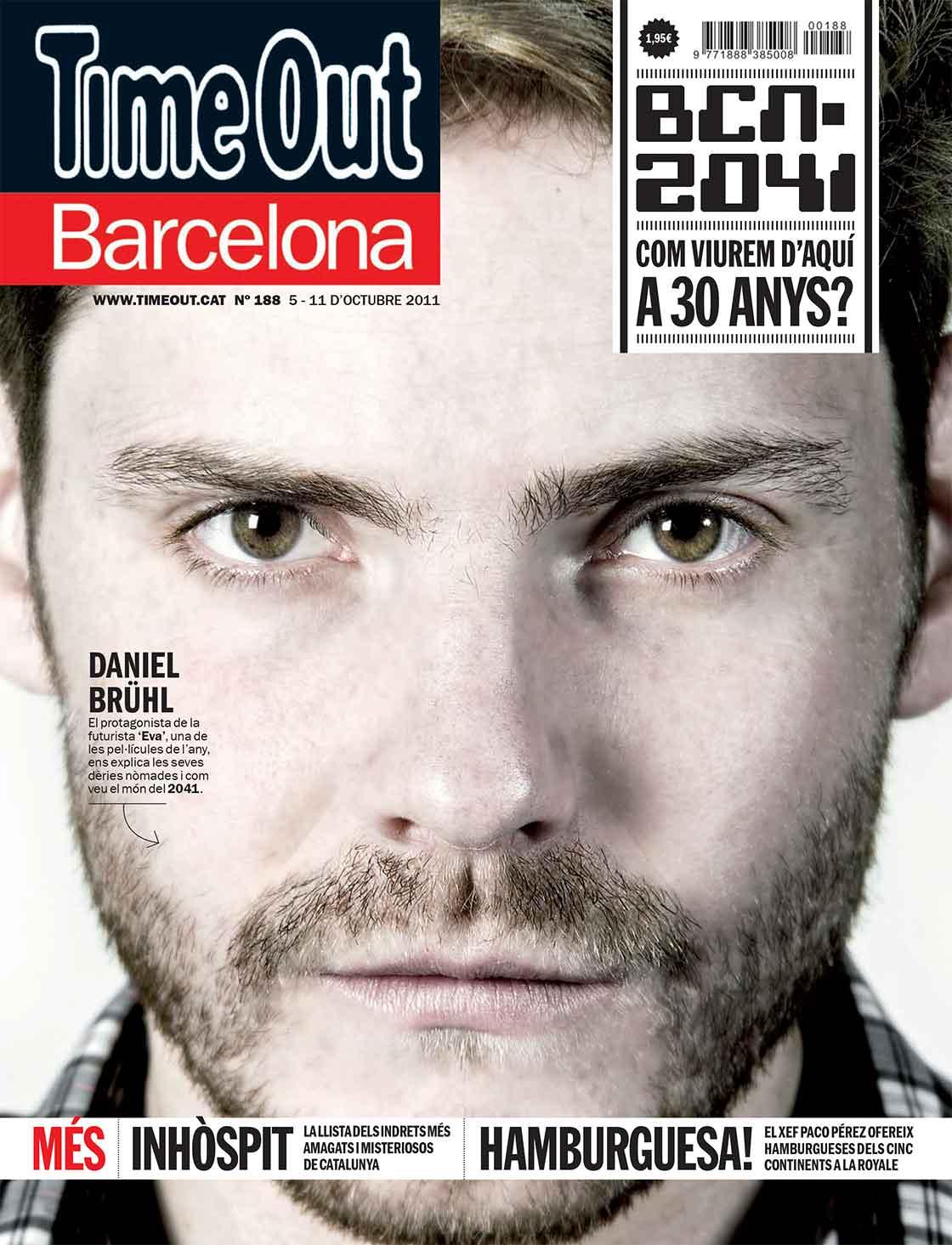 TimeOut Barcelona n.188 - portada @Marc García-Durán, arquitecto