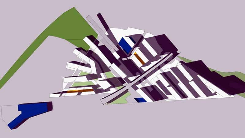 ARE Vallbona - Solsticio Invierno 12h @Marc García-Durán, arquitecto