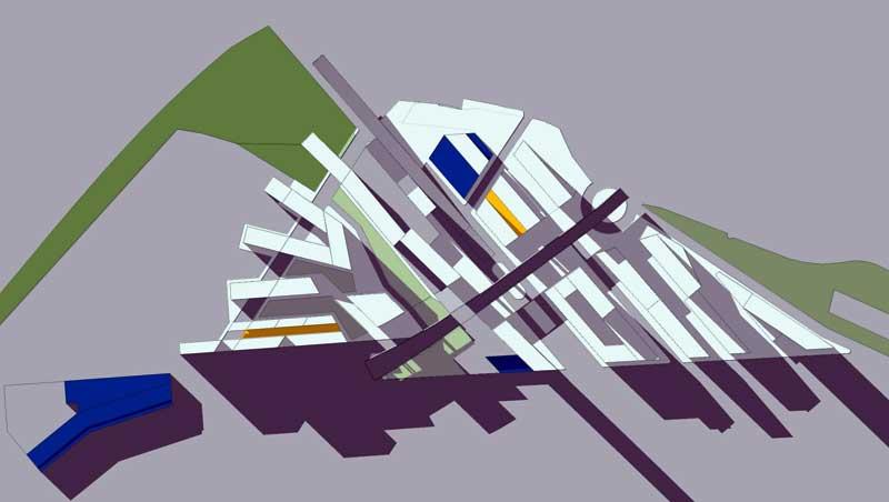 ARE Vallbona - Solsticio Invierno 16h @Marc García-Durán, arquitecto
