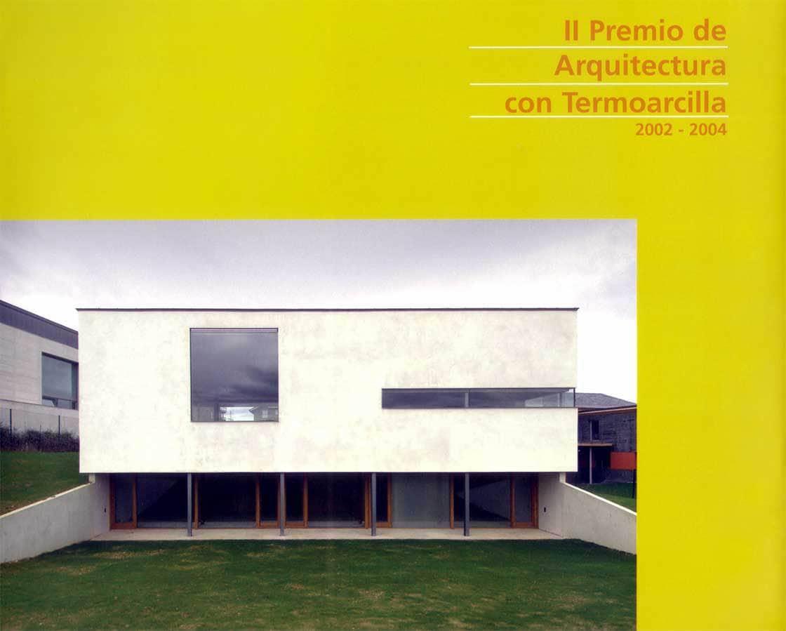 II Premio de Architectura con Termoarcilla - portada @Marc García-Durán, arquitecto