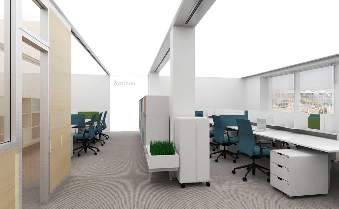 Oficinas de Synthon @Marc García-Durán, arquitecto