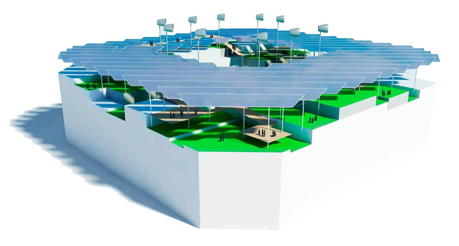 Illa Energetica @Marc García-Durán, arquitecto